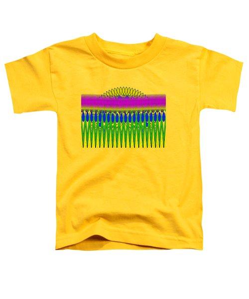 Peeking Sun Abstract By Kaye Menner Toddler T-Shirt