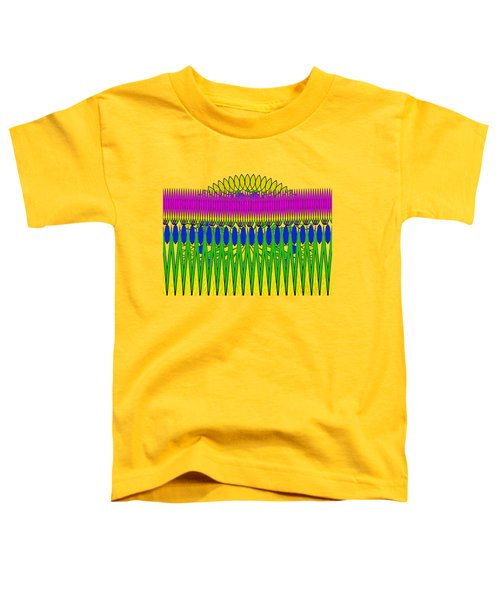 Peeking Sun Abstract By Kaye Menner Toddler T-Shirt