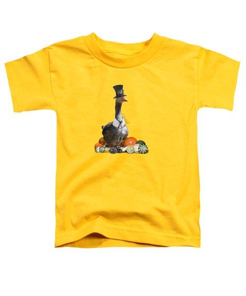 Pilgrim Goose Toddler T-Shirt