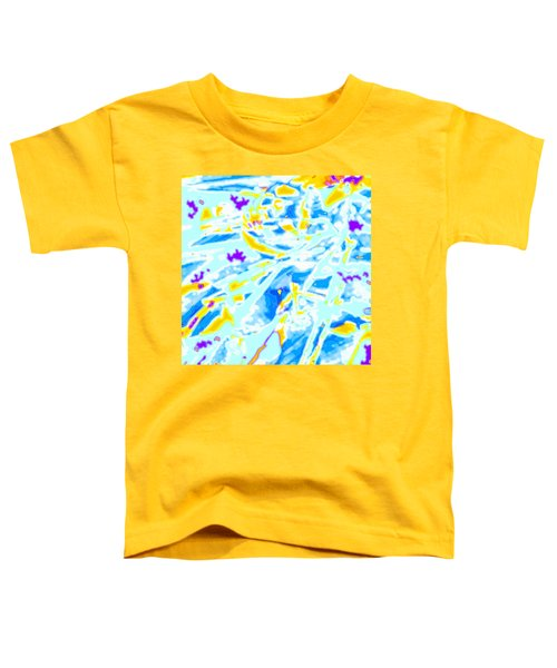 Toddler T-Shirt featuring the digital art Pop Art Swirls And Shapes by Joy McKenzie