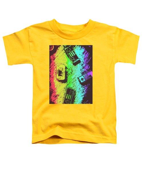 Pop Art Video Games Toddler T-Shirt