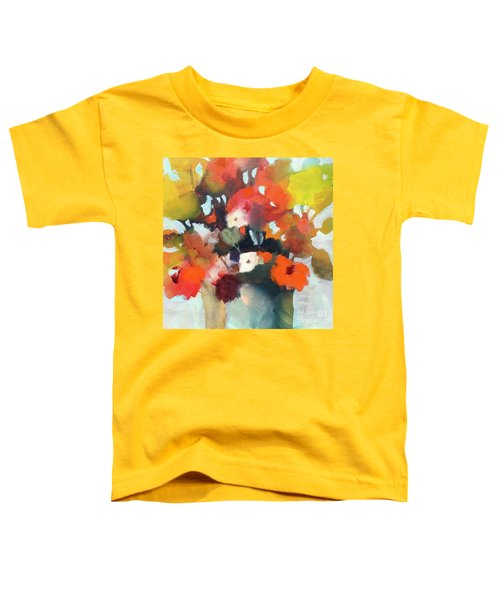 Pot Of Flowers Toddler T-Shirt