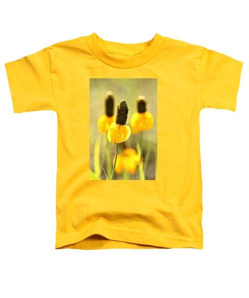 Prairie Coneflower In Morning Light Toddler T-Shirt