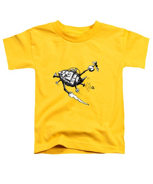 Rats In Space Toddler T-Shirt by Kim Gauge