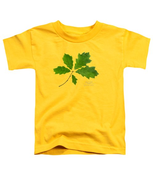 Toddler T-Shirt featuring the photograph Red Oak by Christina Rollo