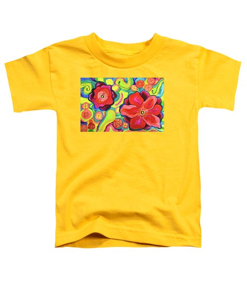 Red Poppies #6 Belize Toddler T-Shirt