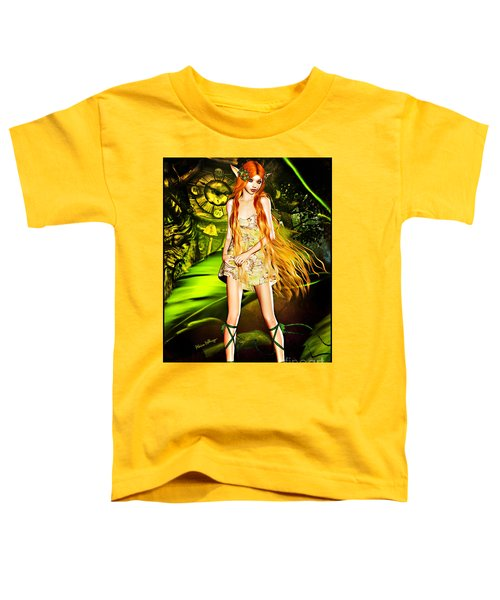 Redhead Forest Pixie Toddler T-Shirt