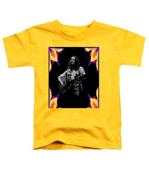 S#14 Enhanced Bw In Flower Frame Toddler T-Shirt