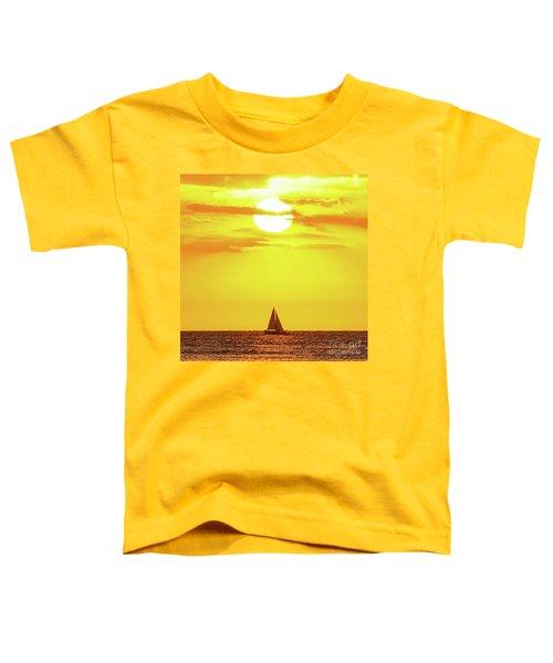 Sailing In Hawaiian Sunshine Toddler T-Shirt