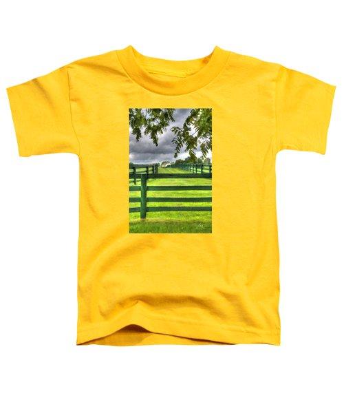 Shawanee Fences Toddler T-Shirt