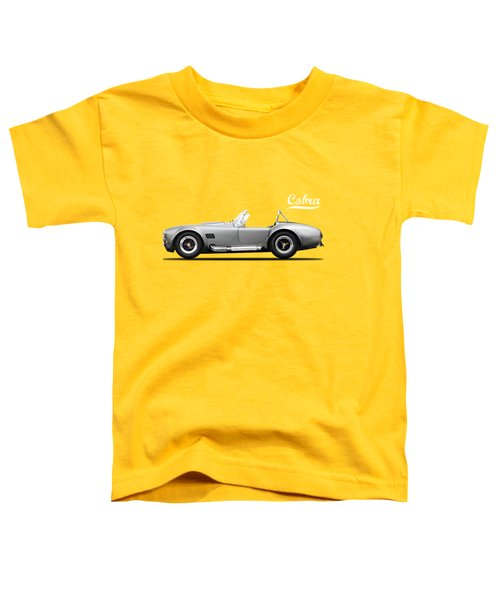 Shelby Cobra 427 Sc 1965 Toddler T-Shirt by Mark Rogan