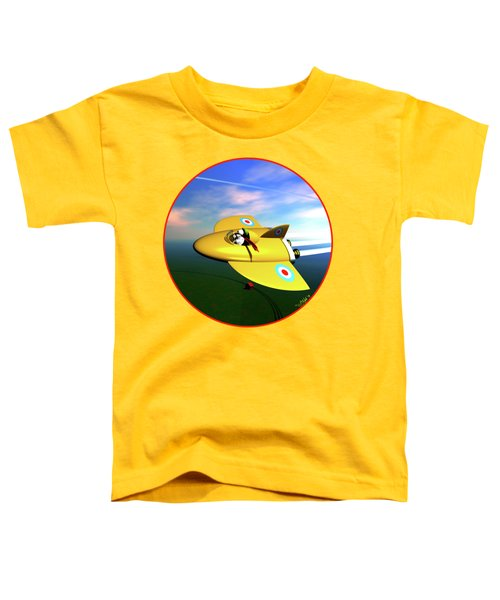 Snoopy The Flying Ace Toddler T-Shirt