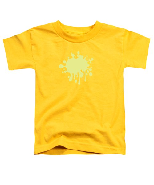 Solid Yellow Pastel Color Toddler T-Shirt