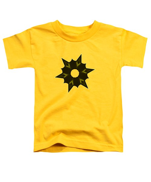 Star Record No. 5 Toddler T-Shirt by Stephanie Brock
