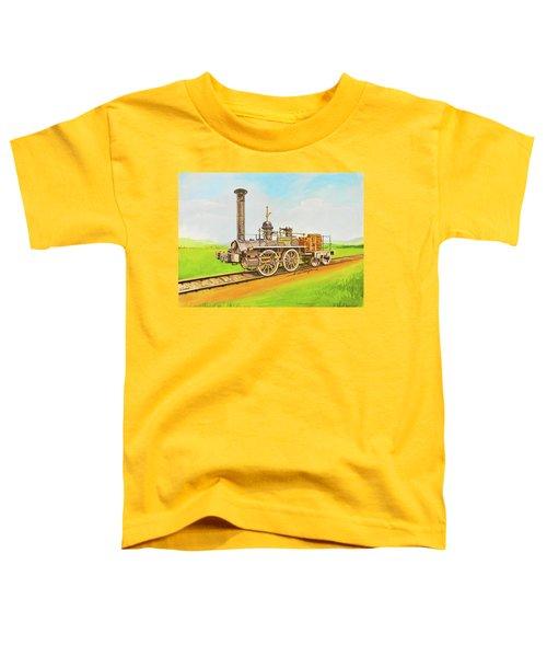 Steam Engine Mississippi Toddler T-Shirt