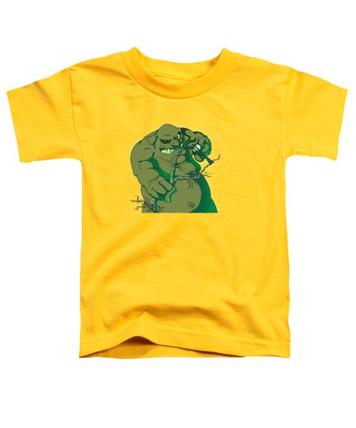 Storybook Ogre Shooting Heads Toddler T-Shirt