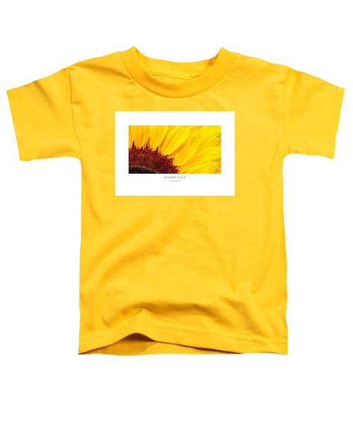 Summer Gold Toddler T-Shirt