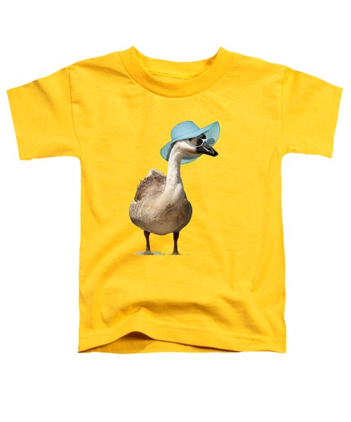 Summer Goose Toddler T-Shirt by Gravityx9  Designs