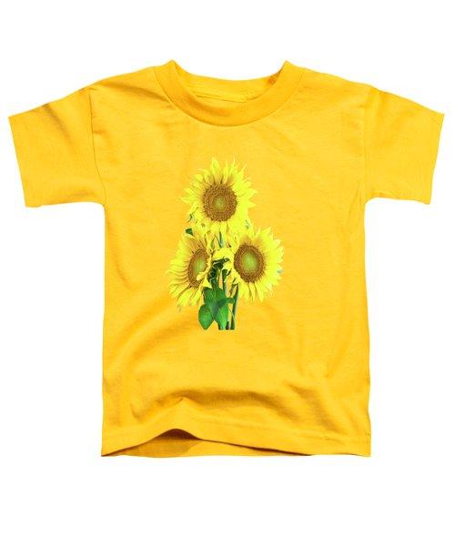 Sunflower Dreaming Toddler T-Shirt