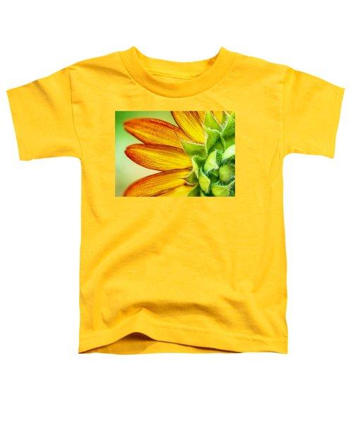 Sunflower Macro 1 Toddler T-Shirt