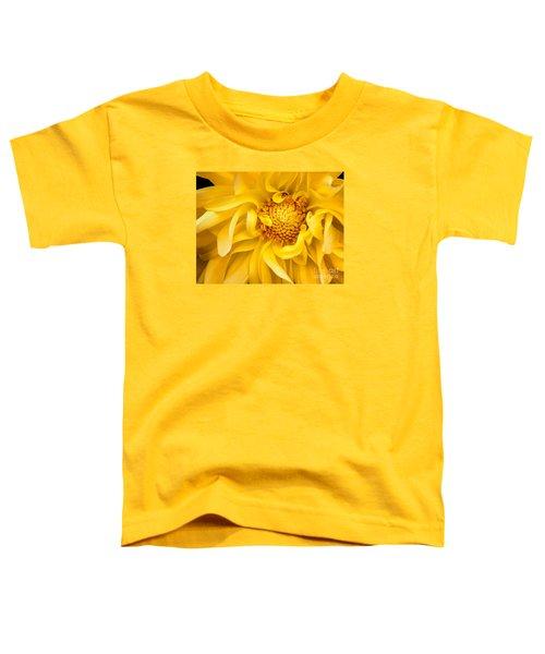 Sunflower Yellow Toddler T-Shirt