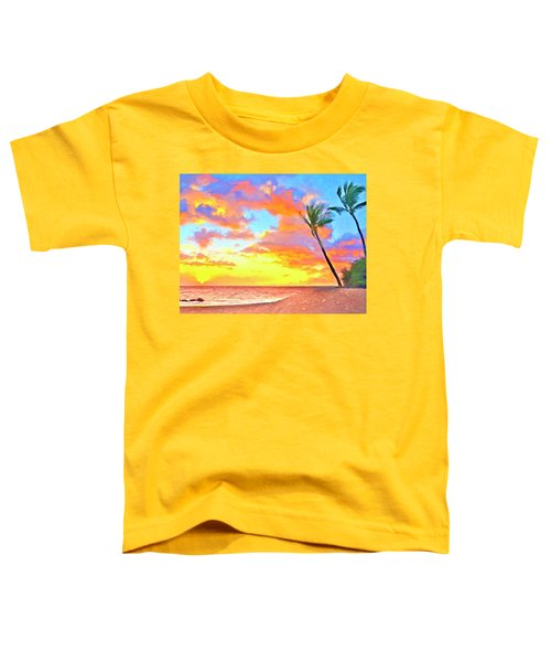 Sunset Near Kawaihae Toddler T-Shirt