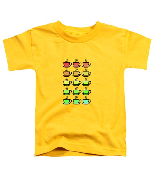 Tea Cups Toddler T-Shirt