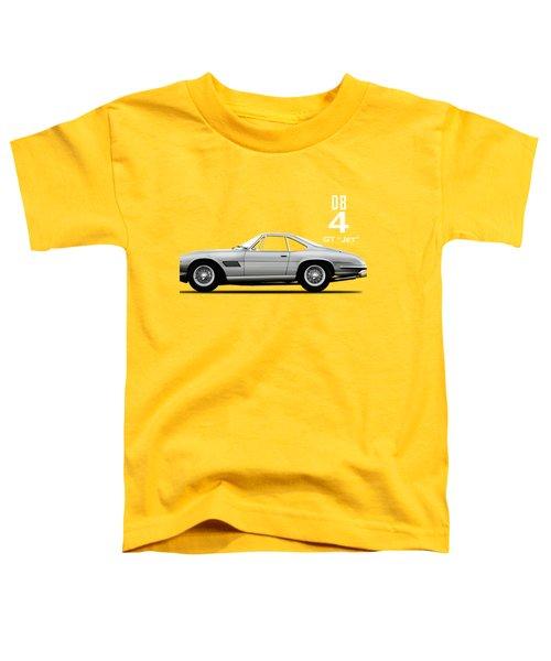 The Db4gt Jet Toddler T-Shirt by Mark Rogan