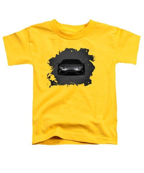 The Huracan Toddler T-Shirt by Mark Rogan