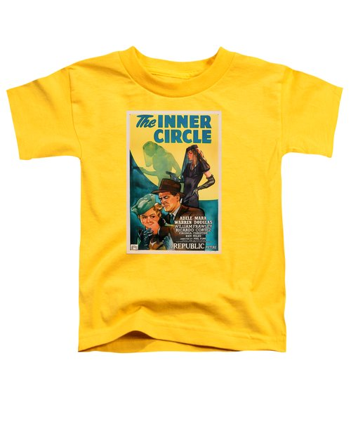 The Inner Circle 1946 Toddler T-Shirt by Mountain Dreams