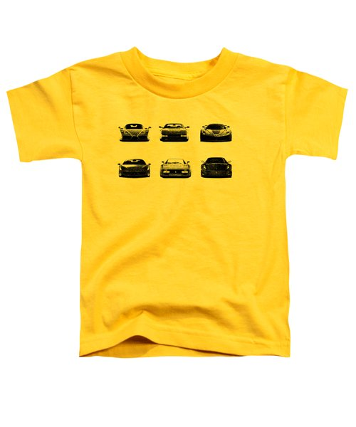 The Italian Supercar Collection Toddler T-Shirt