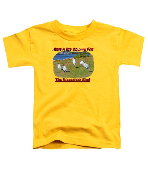 The Woodstork Five Toddler T-Shirt by John M Bailey