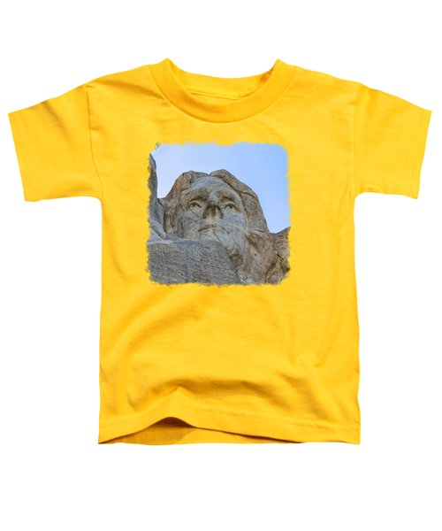 Thomas Jefferson 3 Toddler T-Shirt by John M Bailey