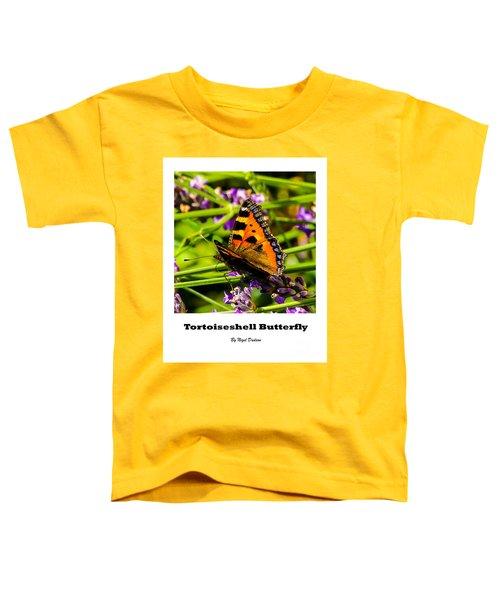 Tortoiseshell Butterfly. Toddler T-Shirt