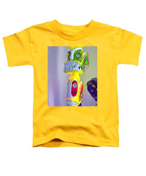 Totemic Mask Toddler T-Shirt