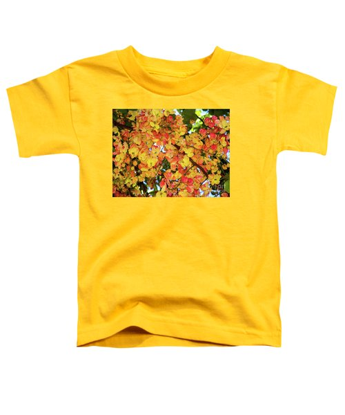 Trees And Flowers In Hawaii Toddler T-Shirt