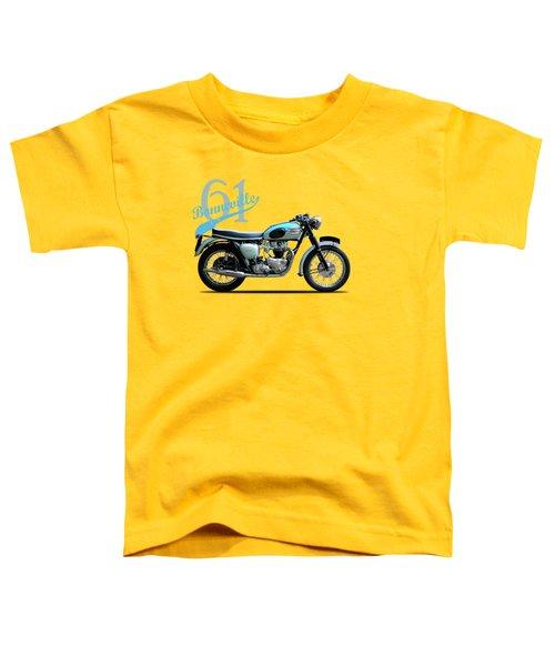 Triumph Bonneville 1961 Toddler T-Shirt
