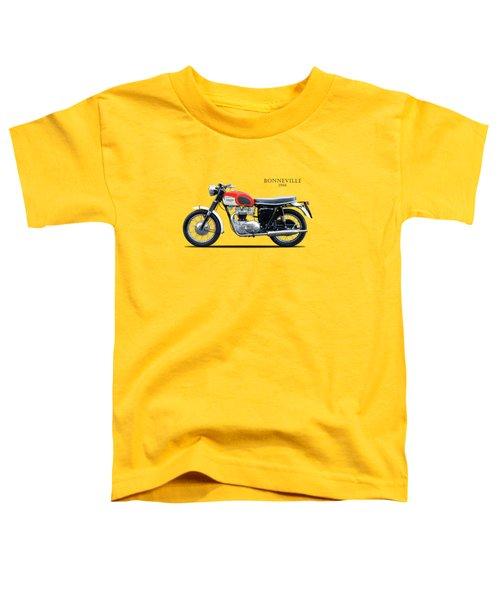 Triumph Bonneville 1966 Toddler T-Shirt by Mark Rogan