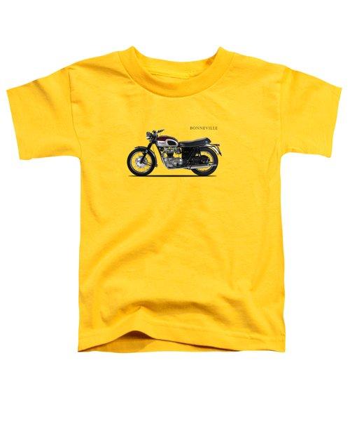 Triumph Bonneville 1968 Toddler T-Shirt by Mark Rogan