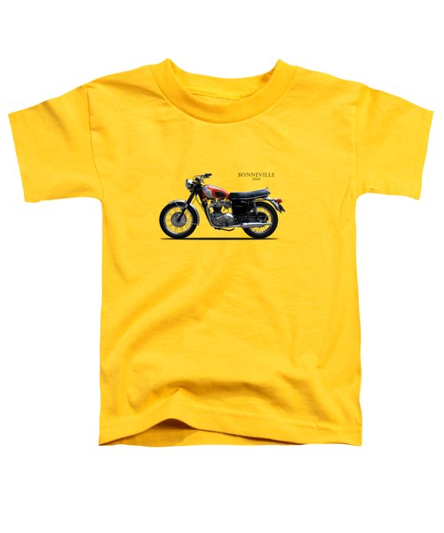 Triumph Bonneville 1969 Toddler T-Shirt