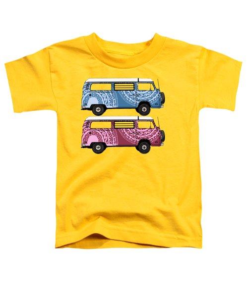 Two Vw Vans Toddler T-Shirt