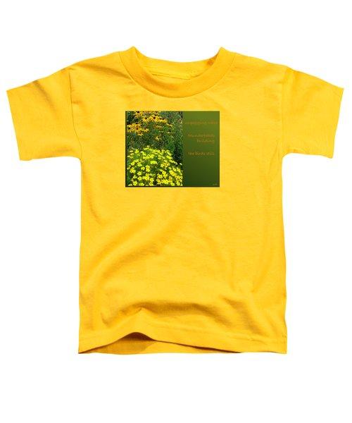 Unpegging Wash Haiga Toddler T-Shirt
