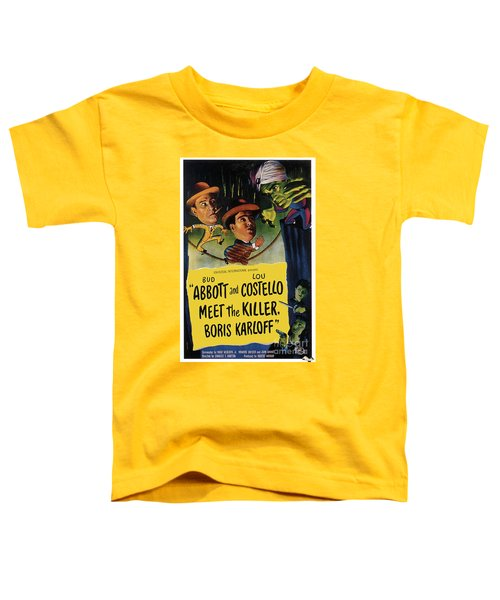 Vintage Movie Posters, Abbott And Costello Meet The Killer Toddler T-Shirt