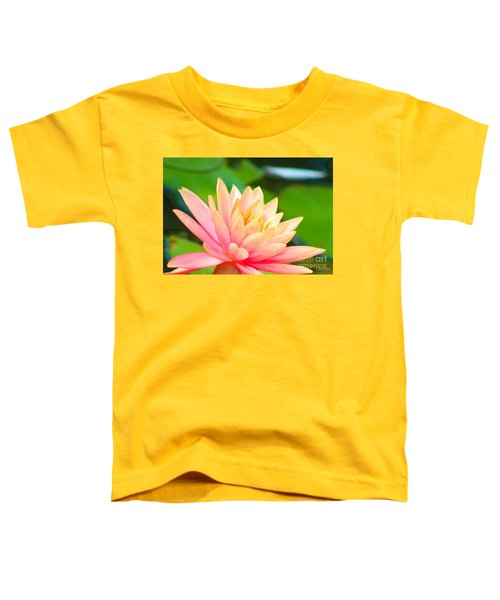 Floating Water Lily  Toddler T-Shirt