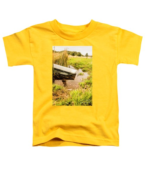 Water Troughs And Outback Farmland Toddler T-Shirt