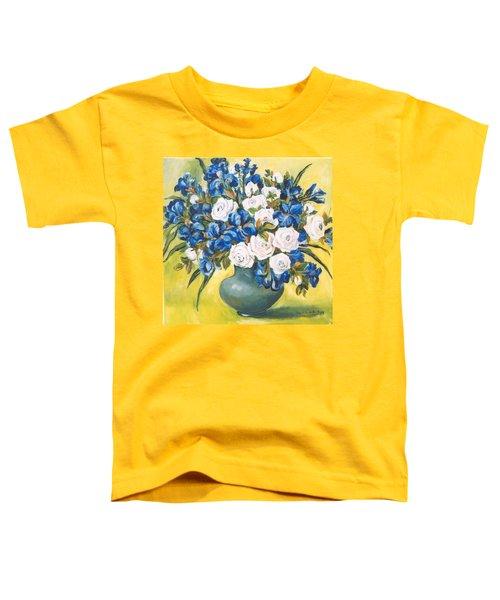 White Roses Toddler T-Shirt