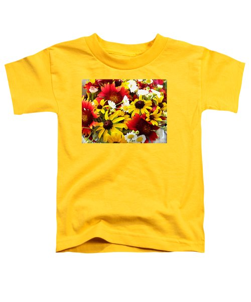 Wildflower Riot Toddler T-Shirt