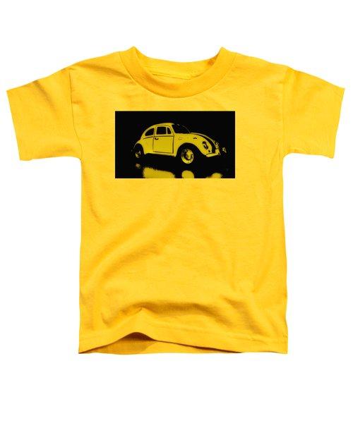Yellow Bug Toddler T-Shirt