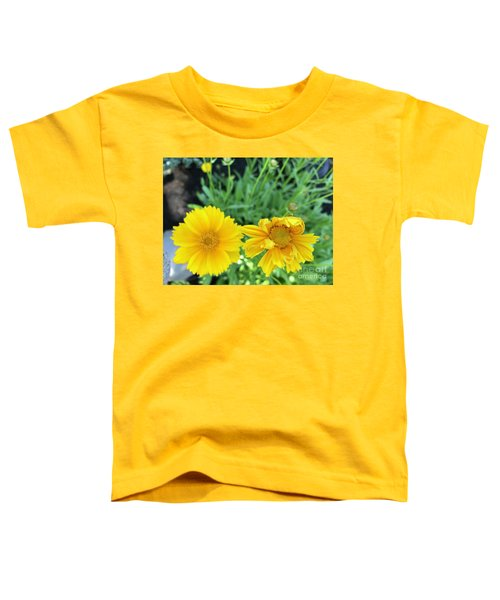 Yellow Coreopis Toddler T-Shirt