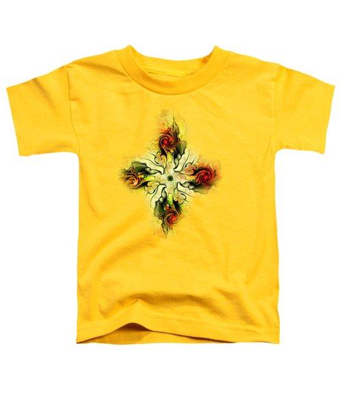Yellow Cross Toddler T-Shirt